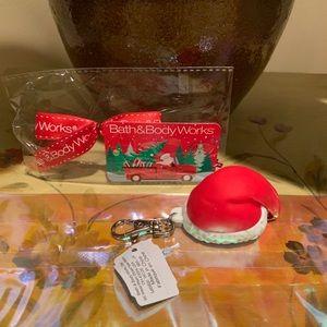 Bath & Body Works Santa Hat/GIFT Pocketbac Holder